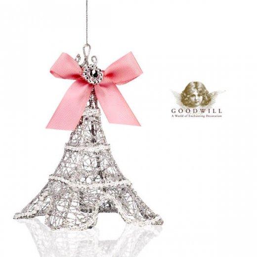 【単品販売】グッドウィル GOODWILL ベルギー直輸入 オーナメント 【エッフェル塔】クリスマス・バレンタインデー