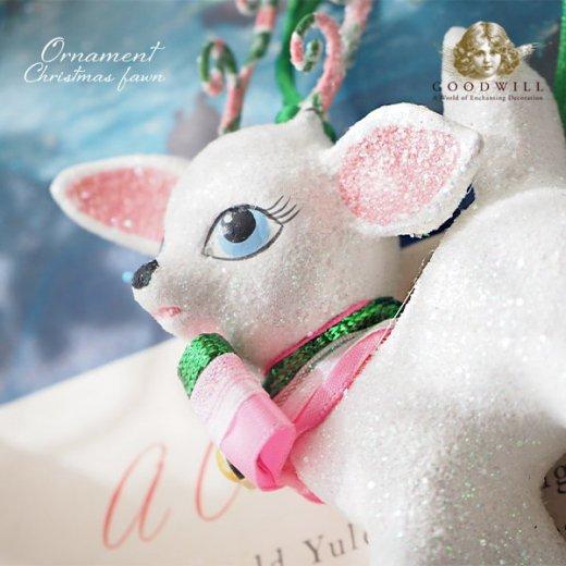 【単品販売】グッドウィル GOODWILL ベルギー直輸入 オーナメント 【子鹿】クリスマス・バレンタインデー【画像2】