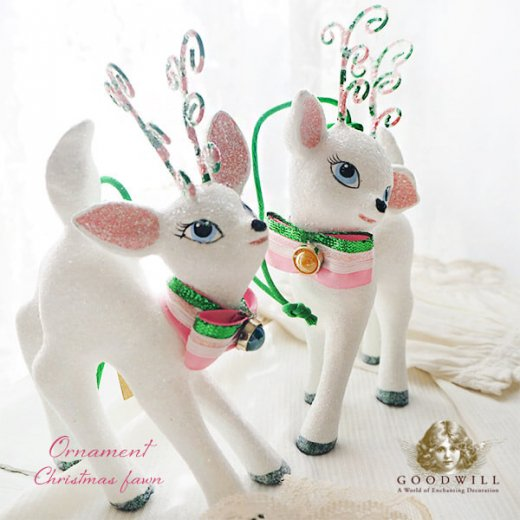 【単品販売】グッドウィル GOODWILL ベルギー直輸入 オーナメント 【子鹿】クリスマス・バレンタインデー【画像8】