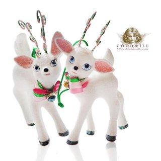 【単品販売】グッドウィル GOODWILL ベルギー直輸入 オーナメント 【子鹿】クリスマス・バレンタインデー