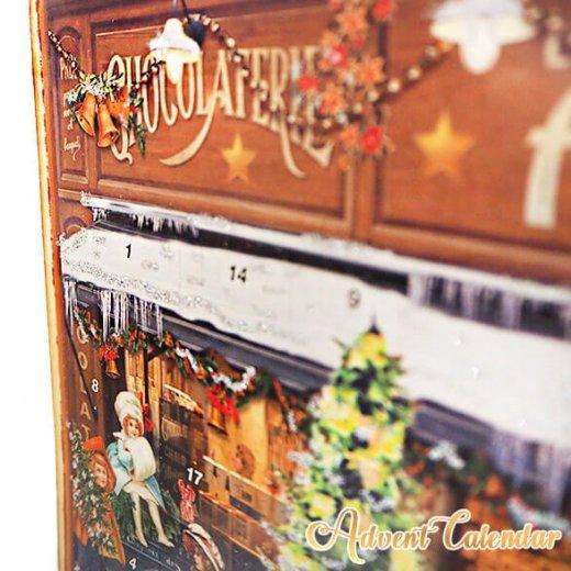 ドイツ クリスマス アドベントカレンダー【L】<クリスマス ショップ  幼子 ヤギ お菓子 プレゼント 天使>【画像6】