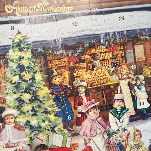 ドイツ クリスマス アドベントカレンダー【L】<クリスマス ショップ  幼子 ヤギ お菓子 プレゼント 天使>【画像8】