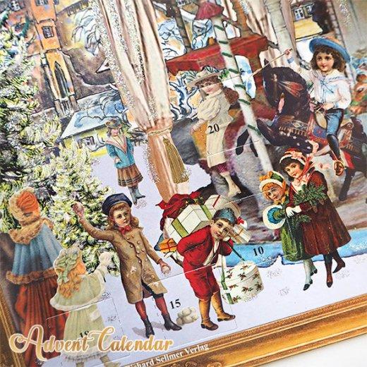 ドイツ クリスマス アドベントカレンダー【L】<メリーゴーラウンド サンタクロース  プレゼント クリスマスツリー>【画像3】