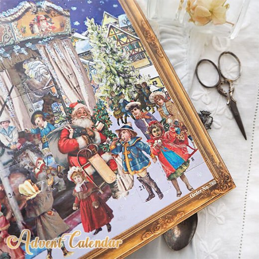 ドイツ クリスマス アドベントカレンダー【L】<メリーゴーラウンド サンタクロース  プレゼント クリスマスツリー>【画像6】