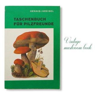 ドイツ 1987年 キノコ 果物 ヴィンテージ本【ボタニカルアートDDR/旧東ドイツ時代】