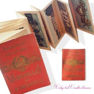 アンティーク・ヴィンテージ本 【希少】フランス 蚤の市より 1920年代 フランス  アンティーク 彩色写真 スーベニア フォトカード集(souvenir de paris)