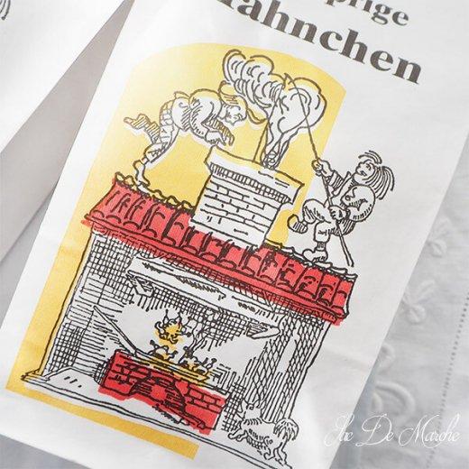 【単品販売】デッドストック マルシェ袋 ドイツ 海外市場の紙袋(サクサク チキン Lサイズ・Mサイズ)【画像4】
