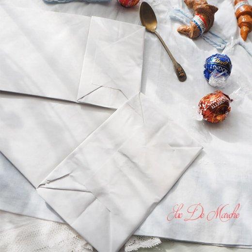 【単品販売】デッドストック マルシェ袋 ドイツ 海外市場の紙袋(サクサク チキン Lサイズ・Mサイズ)【画像10】