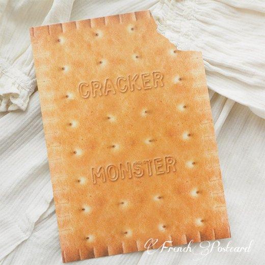 フレンチポストカード クッキー ダイカット(CRACKER MONSTER)【画像2】