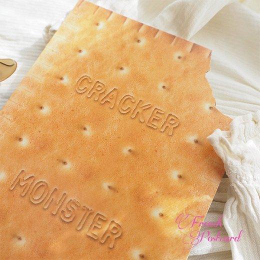 フレンチポストカード クッキー ダイカット(CRACKER MONSTER)【画像3】