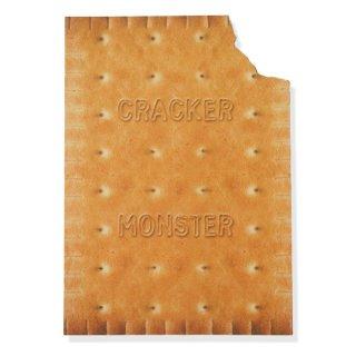 フレンチポストカード クッキー ダイカット(CRACKER MONSTER)