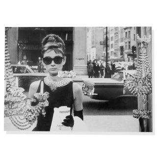 フレンチ ポストカード オードリー・ヘップバーン ティファニーで朝食を D (Audrey Hepburn)