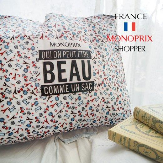 【フランス直輸入!】 MONOPRIX モノプリ エコバッグ【パリ・エッフェル塔 フランス国旗】 【画像8】
