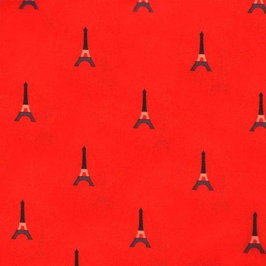 【フランス直輸入!】 MONOPRIX モノプリ エコバッグ【レッド パリ・エッフェル塔】 【画像9】