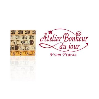 輸入 木製ボタン 手芸 裁縫 フランス輸入ボタン アトリエ・ボヌール・ドゥ・ジュール【テーラーメジャー】