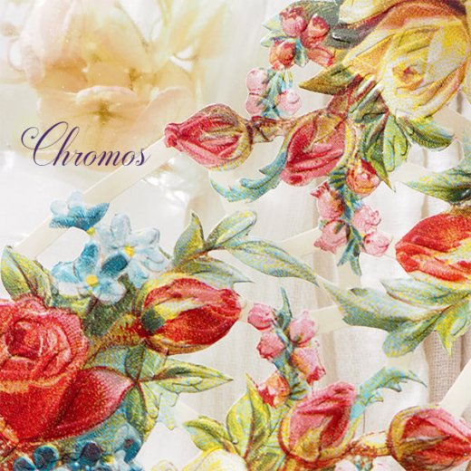 ドイツ クロモス【M】<バラ 忘れな草 すずらん 花束  >【画像2】