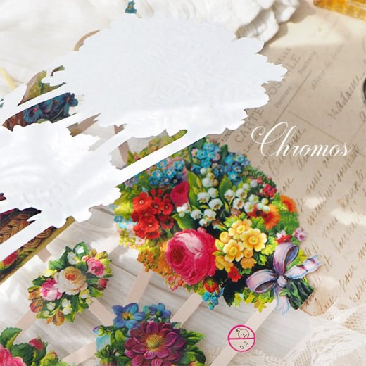 ドイツ クロモス【M】<クラシック バラ すみれ 忘れな草 すずらん 花束  >【画像7】