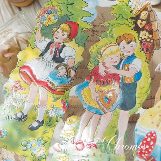 ドイツ クロモス【M】<童話 フェアリーテイル 赤ずきん ヘンゼル・グレーテル ブレーメンの音楽隊>【画像3】