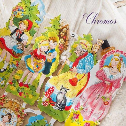 ドイツ クロモス【M】<童話 フェアリーテイル 赤ずきん ヘンゼル・グレーテル ブレーメンの音楽隊>【画像5】