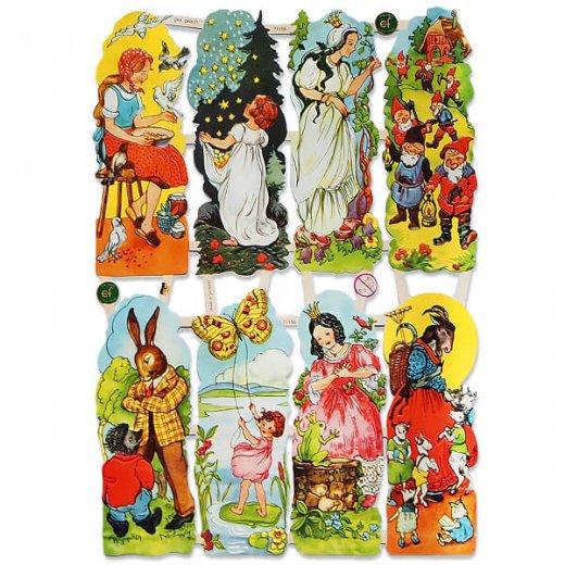 ドイツ クロモス【M】<童話 フェアリーテイル 星の銀貨 灰かぶり姫 おやゆび姫 カエルの王様 オオカミと七匹の子ヤギ>