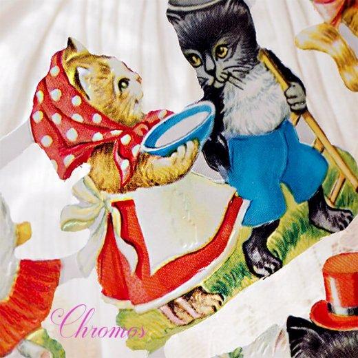 ドイツ クロモス【M】<猫 子猫 結婚 出産 お祝い Mein Liebling> 【画像6】