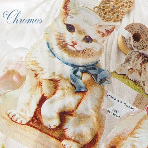 ドイツ クロモス【M】<猫 リボン バラ ひつじ 犬> 【画像8】