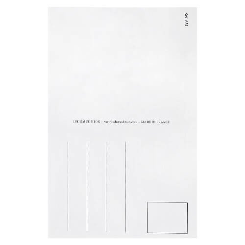 フランス イースター 復活祭 ポストカード (女の子 ひよこ カラフルエッグ)【画像6】