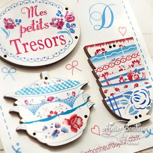 【お得なボタンセット】フランス輸入ボタン アトリエ・ボヌール・ドゥ・ジュール(Mes petits Tresors 私の小さな宝物)【画像4】