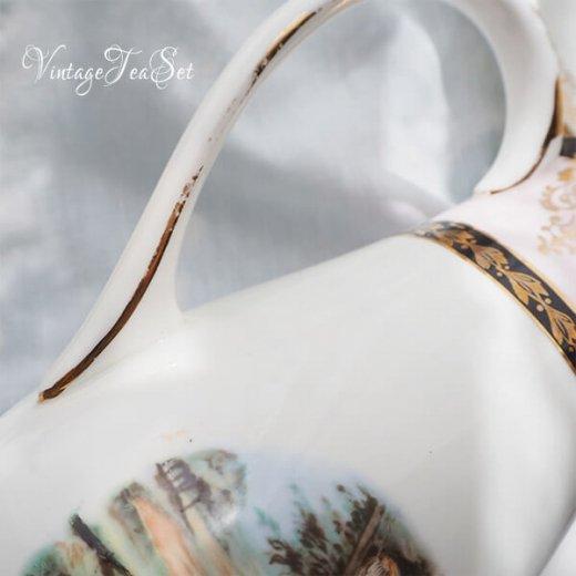 【送料無料】イギリス BONE CHINA ヴィンテージ ガーリー ティー ボーンチャイナ 陶器 10点セット【画像12】