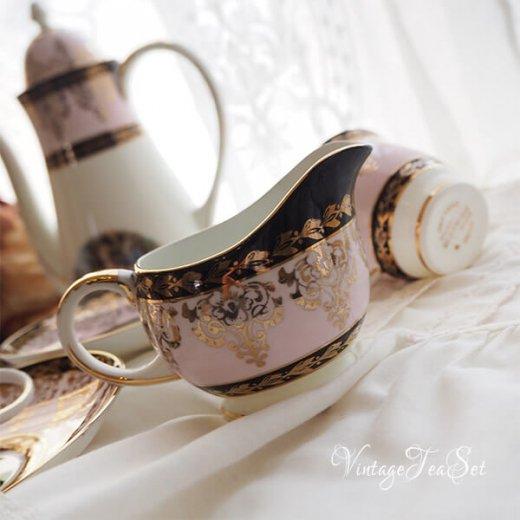 【送料無料】イギリス BONE CHINA ヴィンテージ ガーリー ティー ボーンチャイナ 陶器 10点セット【画像4】