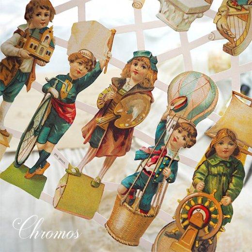 ドイツ クロモス【M】<チャイルドドリーム トランペット奏者、芸術家、考古学者ほか> 【画像4】