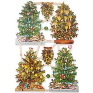 ドイツ クロモス【M】3種のクリスマスツリー