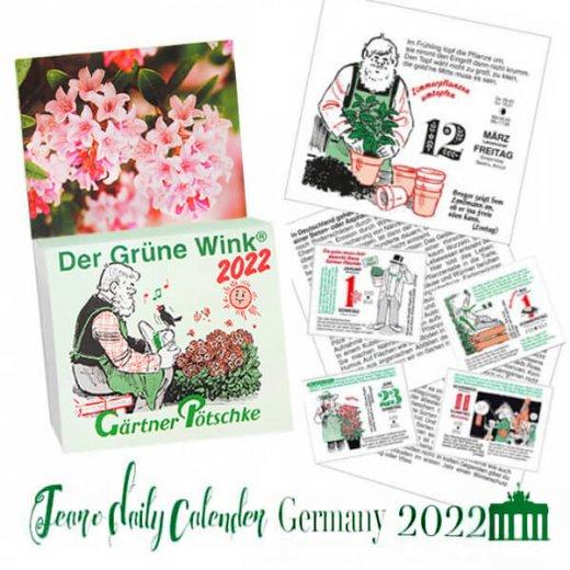 【予約販売になりました】10月中旬〜下旬入荷 2022年ドイツ RUNNEN (ブルネン) ガーデニング 日めくりカレンダー【画像3】