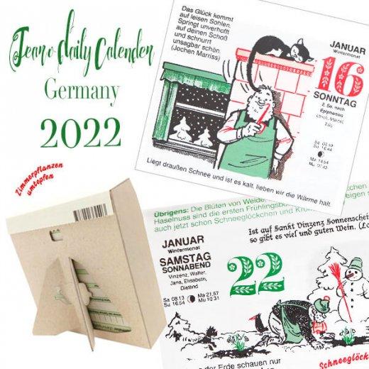 【予約販売になりました】10月中旬〜下旬入荷 2022年ドイツ RUNNEN (ブルネン) ガーデニング 日めくりカレンダー【画像5】