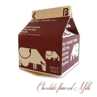 アンティーク 1960年代 デッドストック パッケージ (チョコミルク)