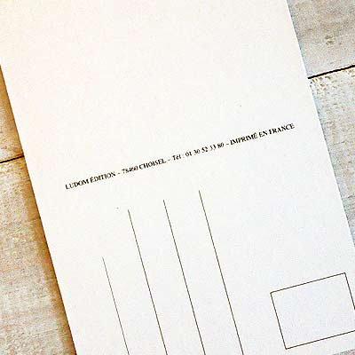 フランスポストカード (Une letter A)【画像4】