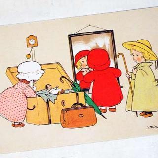 かわいい雑貨 フランスポストカード (Depoart)
