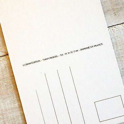 フランスポストカード (Un telephone)【画像4】