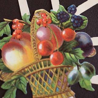 かわいい雑貨 ドイツ クロモス【M】<フルーツ カクテル>