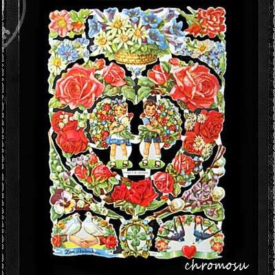 ドイツ クロモス【M】<花の贈り物>【画像2】