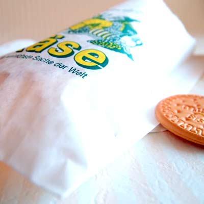 マルシェ袋 ドイツ 海外市場の紙袋(リキュールストア)5枚セット【画像2】