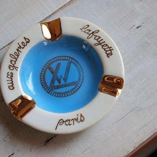SOLDOUT フランス アンティーク 灰皿アッシュトレイ(ギャラリーラファイエット)