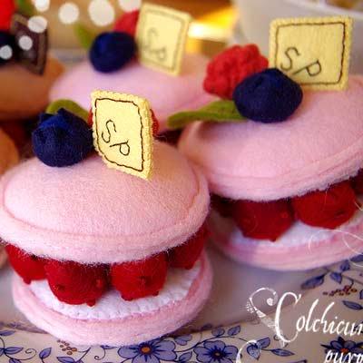 Pitit Four macaron cake - franboise(フランボワーズ)〜Sango-Papa【画像4】