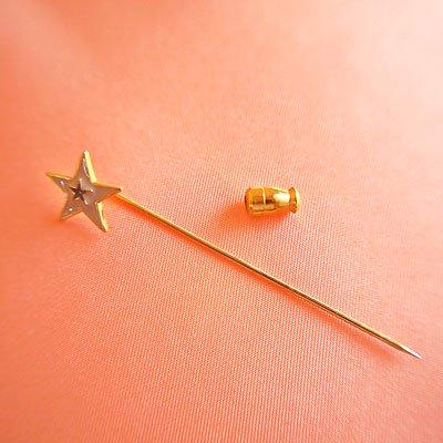 1970's Fashion plate pin(ファッションプレートピン/スター)【画像3】