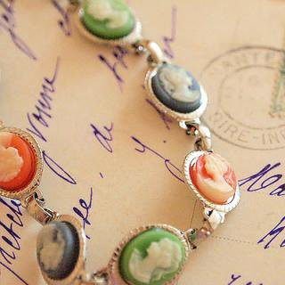 SOLDOUT 1970's cameo bracelet(カメオブレスレット)