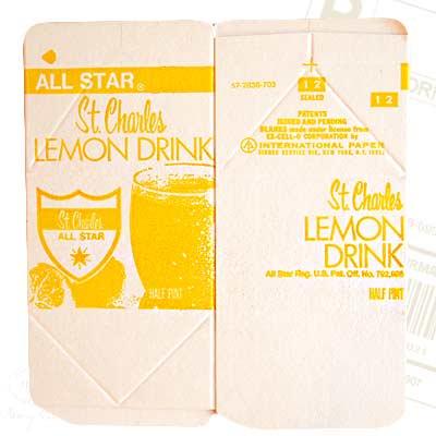 1960年代 デッドストック パッケージ (レモン)【画像2】