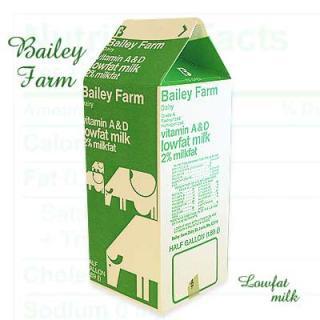 パッケージマニア 1960年代 デッドストック パッケージ (ミルク lage/Green)