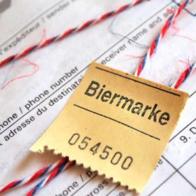 ドイツ ビールチケット【Biermarke】20枚セット【画像3】
