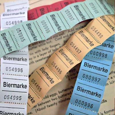 ドイツ ビールチケット【Biermarke】 ロール売り【画像3】