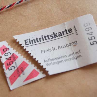 ドイツ入場チケット【Eintrittskarte】20 枚セット【画像4】